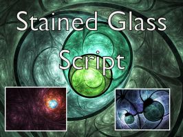 Stained Glass Script by Shortgreenpigg