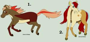 Horse Adoptables #1 - 15 Points Each - *OPEN* by Adopting-Angels