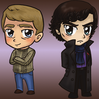 Sherlock Charms by yuliya
