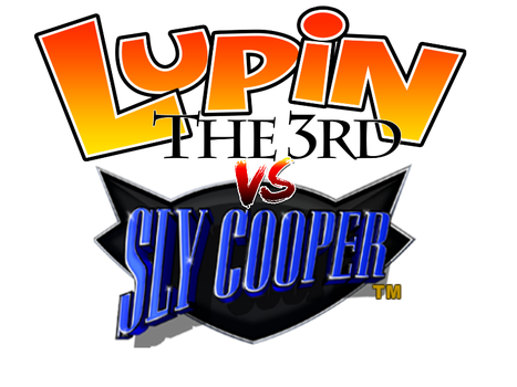 Lupin the Third vs. Sly Cooper logo by TMMC1999