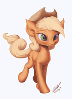 Apple Stroll by AssasinMonkey