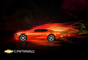 2010 Camaro Ad by atomiclemon