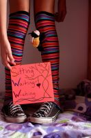 Socks: Sitting Waiting Wishing by liseva