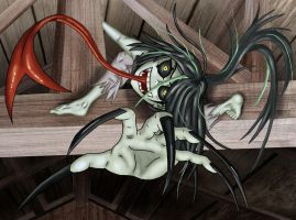 Ruku on the Rafters by Starbat