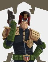 Judge Dredd by Spring-O