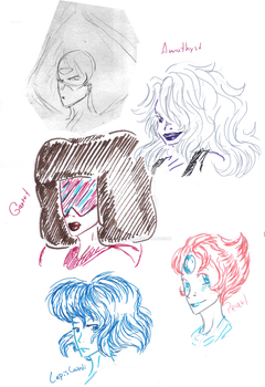 The gems by GamerGirlQueen