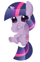 MLP - Chibi Twilight Sparkle by haydee