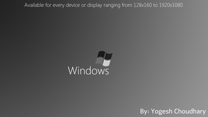 Windows Black and White Wallpaper for Every Device by cyogesh56