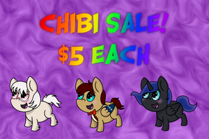 Chibi Sale  by oscardarla