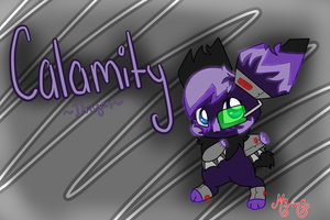 Calamity the Dragon Technochu by MimiTheFox