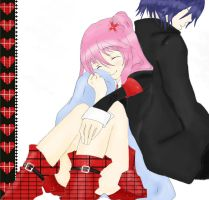 ikuto's blanket coloured by mewtamara