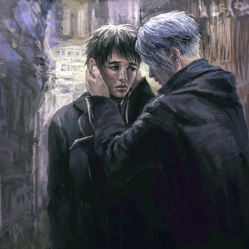 Alleyway Gradence by jesterry