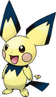Pichu Normal Version by Xous54
