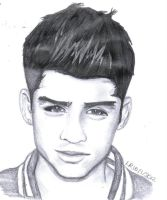 Zayn From One Direction by Lu-Siobhan