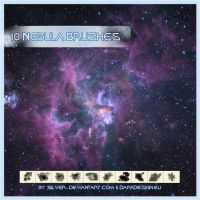Nebula Brushes by silver-