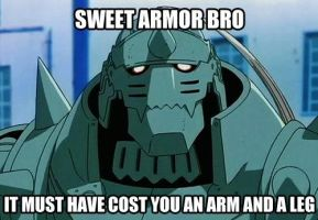 Sweet Armor, Bro by LaviHammer16
