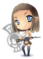 Julia Chibi Commission by ZeroJigoku