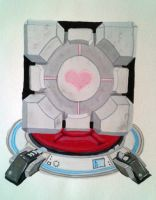 The Weighted Companion Cube! by Squaracters