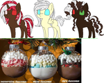 Hotchocolate mlp adoptables by skull-kitty12