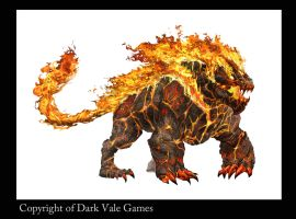 FireElemental copyright of Dark Vale Games by egilthompson