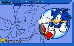 Sonic Channel '10: Sonic by Fuzon-S