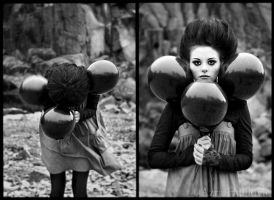 black balloons by enasni