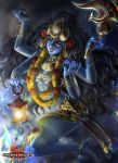Kali Goddess by lunarlunatic
