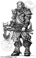 Guerrier Aesir - Warrior by ShiniGAMERS