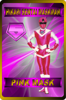 Pink Mask by rangeranime