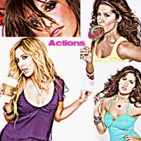 action Tisdale ONLY photoshots by hollywood-glam