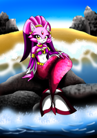 Blaze mermaid by WinterBreez