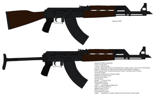 Zastava m70 rifles by kfirpanther3