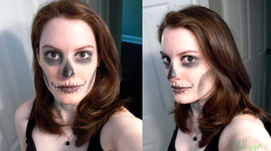 Halloween 2014 Makeup by Valkyyn