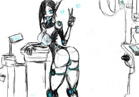 Roboass by pudding88