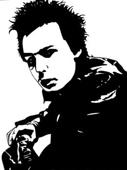 Sid Vicious by queen-ink