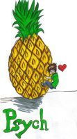 Pineapple Love by KrazyKell