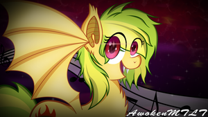 Glaze bat [Happy Birthday] by AwokenArts