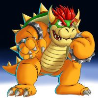 Bowser color by SemajZ