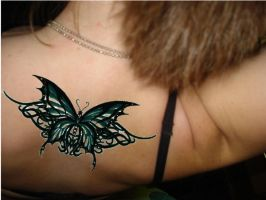 Celtic Butterfly by Naginii