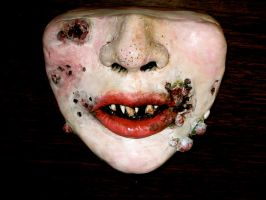 Sculpey face, better view by pink-porcupine