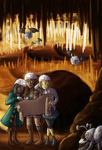 Cave Adventure Time by Krisantyne
