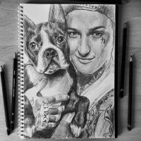 Mitch Lucker and Parker by EquineRibbon