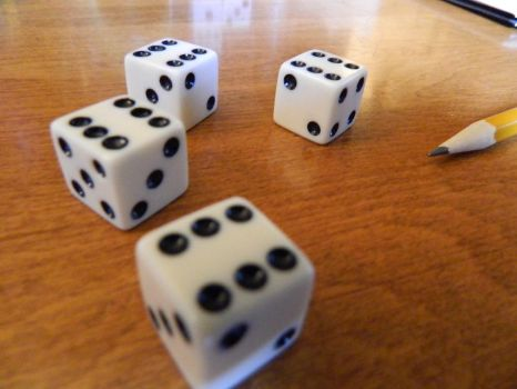 Roll 4 six-sided dice and drop the lowest by Mana-Junkie