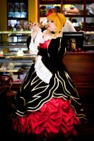 Gold witch Beatrice by Matsu-Sotome