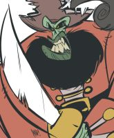Villain Month 2014 - 013 - LeChuck by AndrewDickman