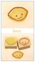 Citrus stamps - Lenny Lemon by restlesswillow