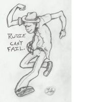 Rudie Can't Fail by BassZombie