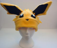 Jolteon Hat by J-R-Creations