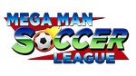 Mega Man Soccer League Logo by Moelleuh