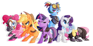 Cutiemark Vault Hunters by Left2Fail
